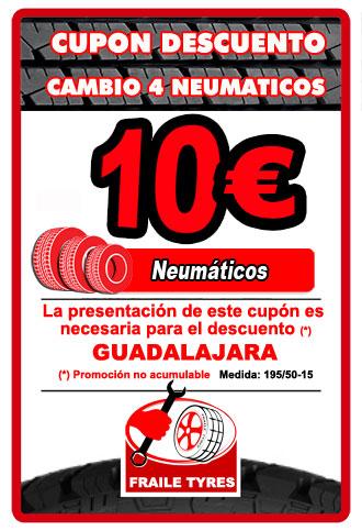 Oferta Neumáticos en Guadalajara